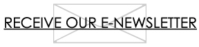 """Image of envelope with text """"Receive our E-Newsletter"""""""